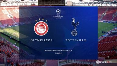 Full match: Olympiakos Piraeus vs Tottenham Hotspur