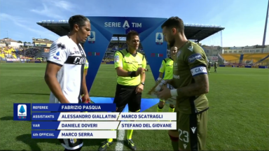 Full match: Parma vs Cagliari