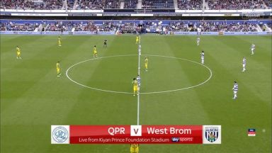 Full match: Queens Park Rangers vs West Bromwich Albion