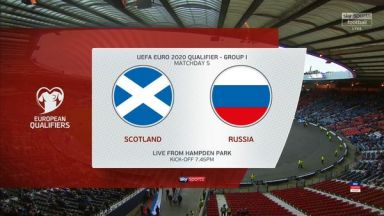Full match: Scotland vs Russia