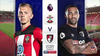Full match: Southampton vs AFC Bournemouth