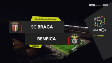 Full match: Sporting Braga vs Benfica
