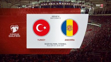 Full match: Turkey vs Andorra