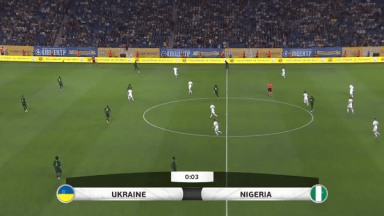 Full match: Ukraine vs Nigeria