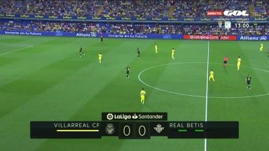 Full match: Villarreal vs Real Betis
