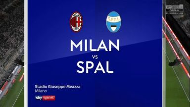 Full match: AC Milan vs SPAL