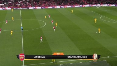 Full match: Arsenal vs Standard Liège