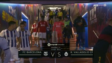 Full match: Barcelona vs Real Valladolid