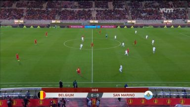 Full match: Belgium vs San Marino