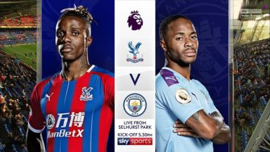 Full match: Crystal Palace vs Manchester City