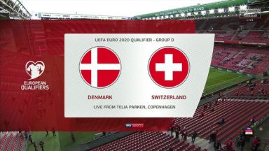 Full match: Denmark vs Switzerland