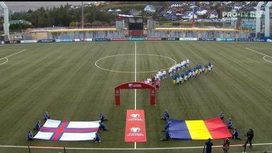 Full match: Faroe Islands vs Romania