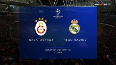 Full match: Galatasaray vs Real Madrid