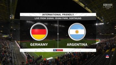 Full match: Germany vs Argentina