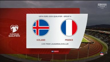 Full match: Iceland vs France