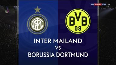 Full match: Inter Milan vs Borussia Dortmund