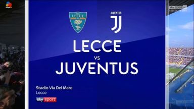 Full match: Lecce vs Juventus