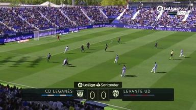 Full match: Leganes vs Levante