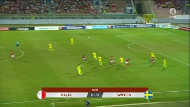 Full match: Malta vs Sweden