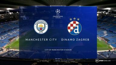 Full match: Manchester City vs Dinamo Zagreb