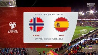 Full match: Norway vs Spain