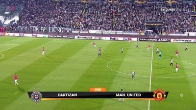 Full match: Partizan vs Manchester United