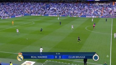 Full match: Real Madrid vs Club Brugge