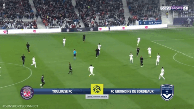 Full match: Toulouse vs Bordeaux