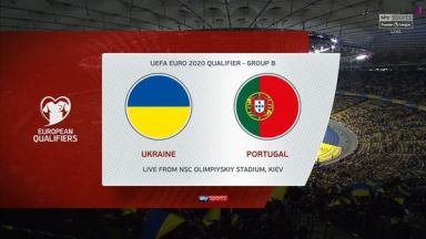 Full match: Ukraine vs Portugal