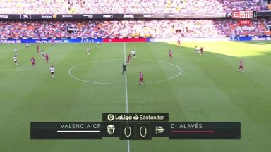 Full match: Valencia vs Deportivo Alaves
