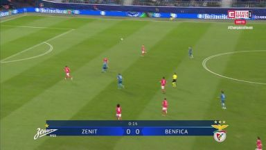 Full match: Zenit vs Benfica