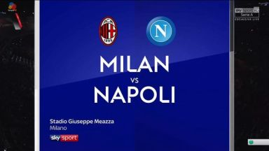Full match: AC Milan vs Napoli