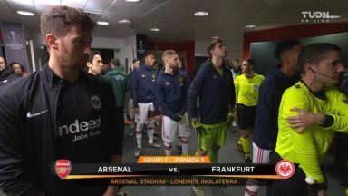 Full match: Arsenal vs Eintracht Frankfurt