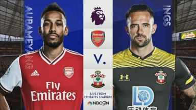 Full match: Arsenal vs Southampton
