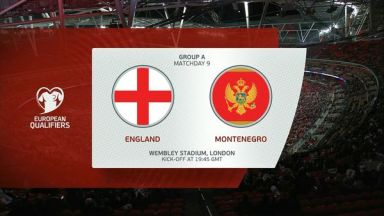Full match: England vs Montenegro