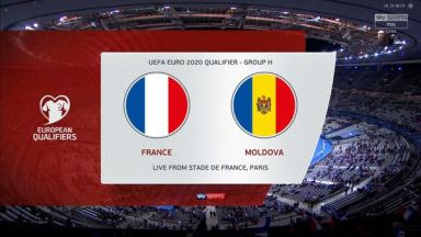 Full match: France vs Moldova