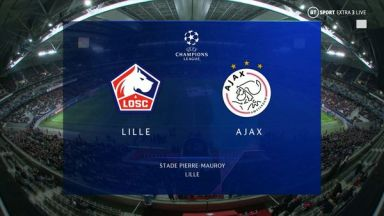 Full match: Lille vs Ajax