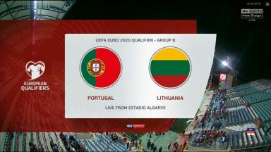 Full match: Portugal vs Lithuania