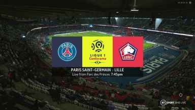 Full match: PSG vs Lille