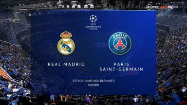 Full match: Real Madrid vs PSG