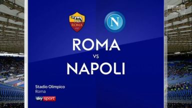 Full match: Roma vs Napoli