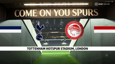 Full match: Tottenham Hotspur vs Olympiakos Piraeus