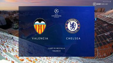 Full match: Valencia vs Chelsea