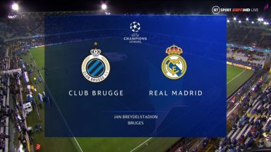 Full match: Club Brugge vs Real Madrid