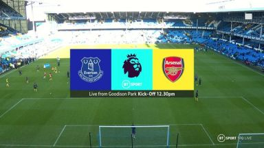 Full match: Everton vs Arsenal