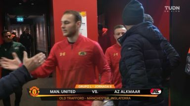 Full match: Manchester United vs AZ Alkmaar