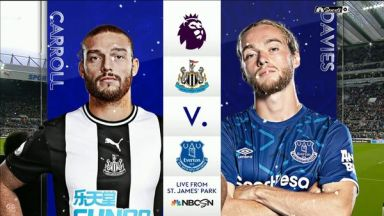 Full match: Newcastle United vs Everton
