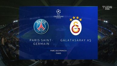 Full match: PSG vs Galatasaray