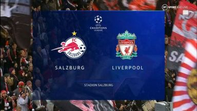 Full match: Salzburg vs Liverpool