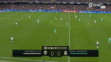 Full match: Valencia vs Real Madrid